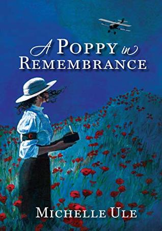a poppy in remembrance